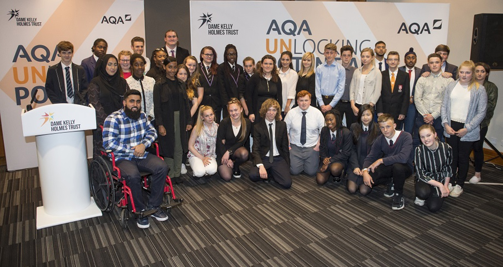 Inspirational End to AQA Unlocking Potential Rounds Off Fifth Year