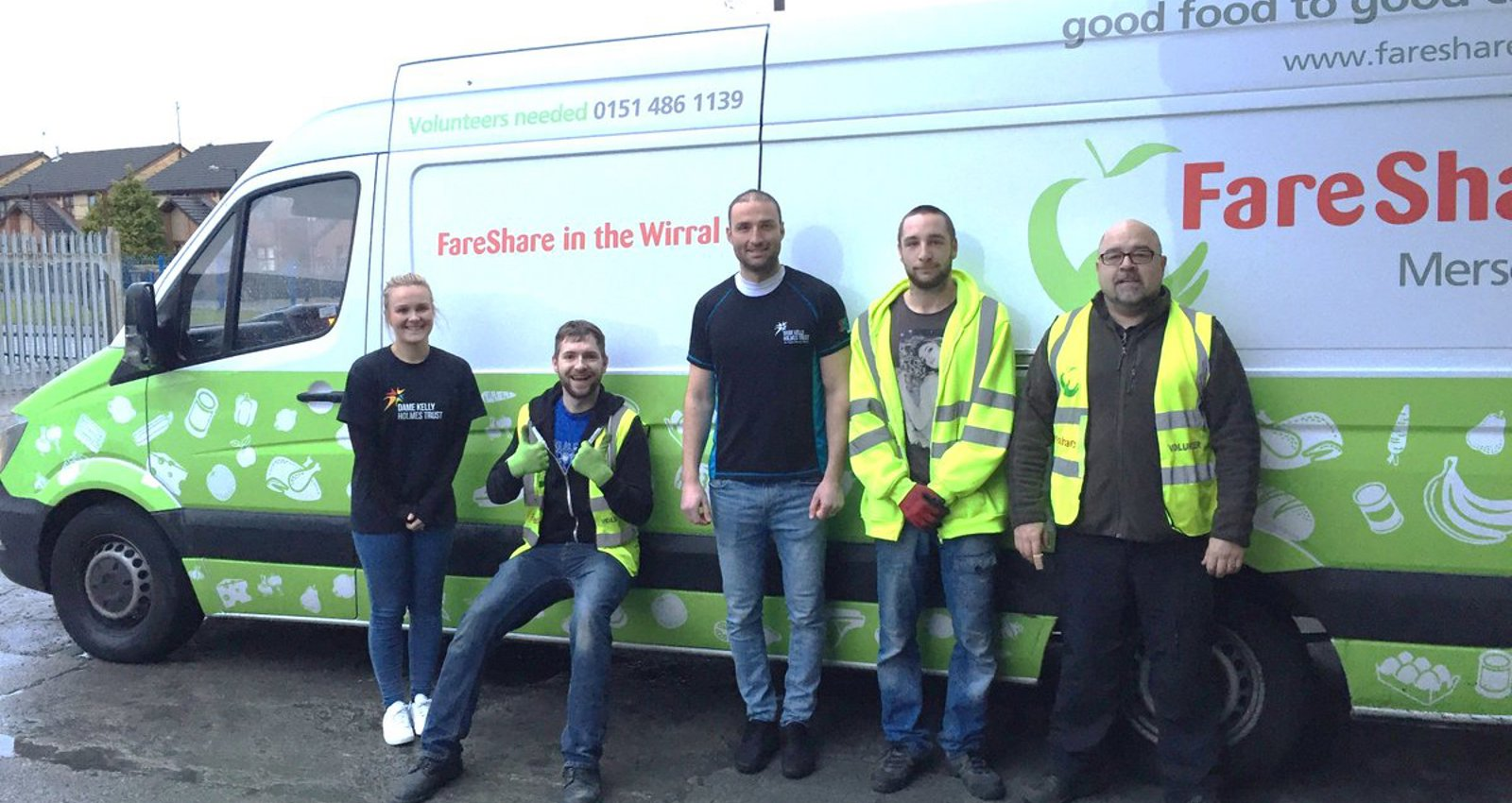 GiveBack athletes team up with FareShare to tackle food waste